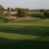A view of a green at Willow Run Golf Course