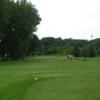 A view from the 1st tee at Hidden Valley Golf Course