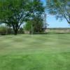 A view of a green at Hiawatha Golf Club
