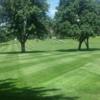 A view of a fairway at Hiawatha Golf Club