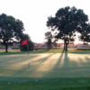 A view of the 11th green at Rocky Run Golf Course