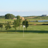 A view of a green at Lakes Golf Course