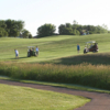 A sunny day view from Lakes Golf Course