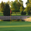 A view of a hole at Pipestone Country Club