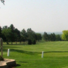 A view of a fairway at Alcester Golf Club