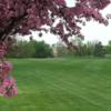 A view of a green at Glenridge Golf Course