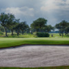 A view of the 1st green at Rockport Country Club