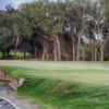 A view of the 17th hole at Rockport Country Club