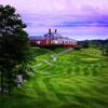 A view from a fairway at Glenmoore Country Club