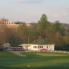 A spring view from Virginia Tech Golf Course
