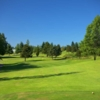 A view from tee #8 at Walter E. Hall Memorial Golf Course
