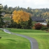 A view of a tee at Sand Point Country Club