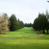 A view from a tee at Snohomish Golf Course