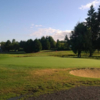 A view of a green at Snohomish Golf Course