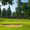 A view of the 18th green at Legion Memorial Golf Course