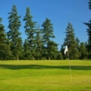 A view of a green at Legion Memorial Golf Course