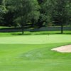 A view of a green at Reid Golf Course