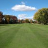 A fall view of a fairway at Riverview Country Club