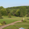 A view of a tee at High Cliff Golf Course