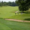 A view of a fairway at Tuckaway Country Club