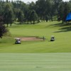 A view of a hole at Tuckaway Country Club