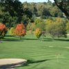 A view of a hole at NAGA-Waukee Golf Course