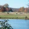 A view over the water from River's Bend Golf Club