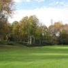 A view of a fairway at Ash Brook Golf Club