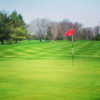 A view of a green at Reid Memorial Park Golf Course