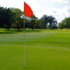 A view of a hole at Las Mercedes Military Golf Club