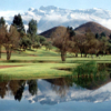A view over the water from Campos de Amiraya Golf Club