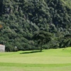 A view of a green at Laguna Volcan Golf Eco Resort