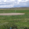 A view of a hole at Oruro Golf Club