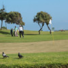 A view of a green at AutoClub Antofagasta Golf Course