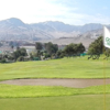 A view from a green at AutoClub Antofagasta Golf Course