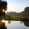 A view over the water from Schloss Ebreichsdorf Golf Club