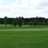 A view of a green at Give Golf Club
