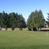 A view of the 13th green at Cherry Hills Lodge & Golf Course