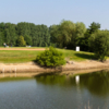 A view over the water from Grange aux Ormes Golf Club
