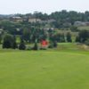 A view of the 5th hole at Saint Gabriel Golf Club