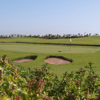A view of a hole at Noria Golf Club