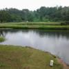 A view over the water from Nsuta Golf Club