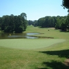 A view of hole #1 at Lanier Golf Club