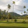 A view from a tee at Seychelles Golf Club