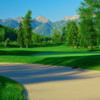 A view of a fairway at Fernie Golf and Country Club