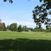 A view of a green at Lake LeAnn Golf Course