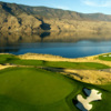 A view of a green and a tee at Tobiano Golf Course