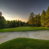 A view of a green at Pine Hills Golf Club