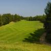 A view of a fairway at Pine Hills Golf Club
