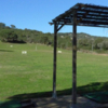 A view of the driving range at Lezza Golf Club